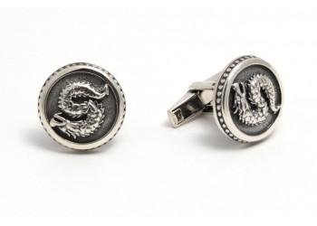 Запонки 7 дракон (6100024)