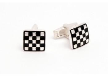 Запонки 2 шахматы эм (6100025)